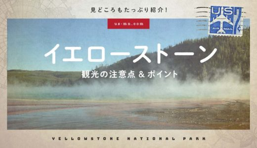 イエローストーン国立公園観光【行く前に知っておきたい注意点とポイント紹介】