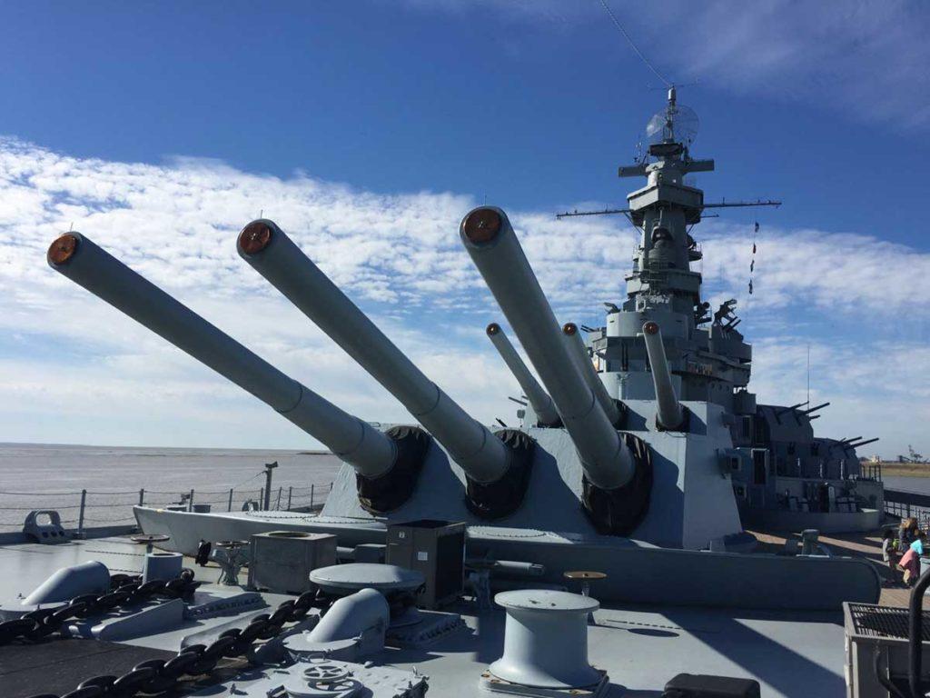 USSアラバマ戦艦記念公園の見どころ