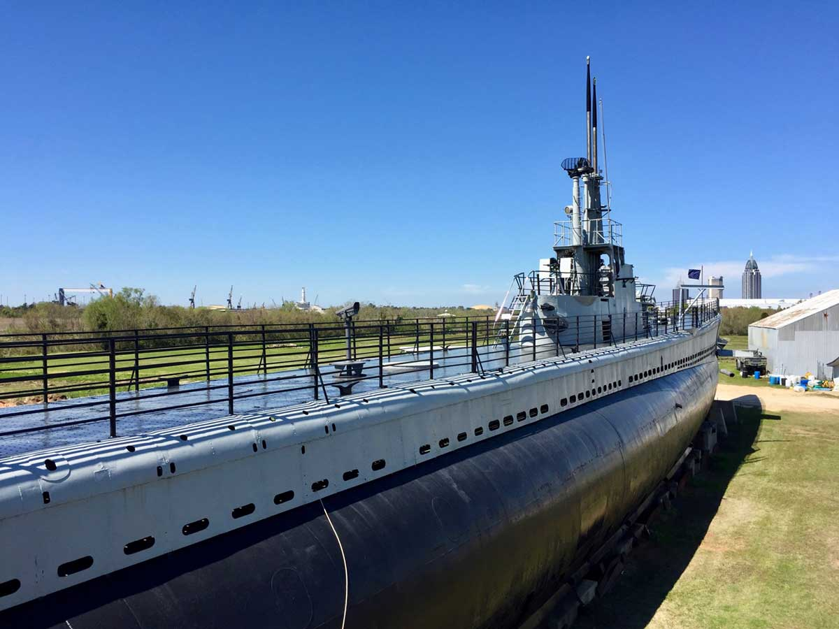 潜水艦「USSドラム」