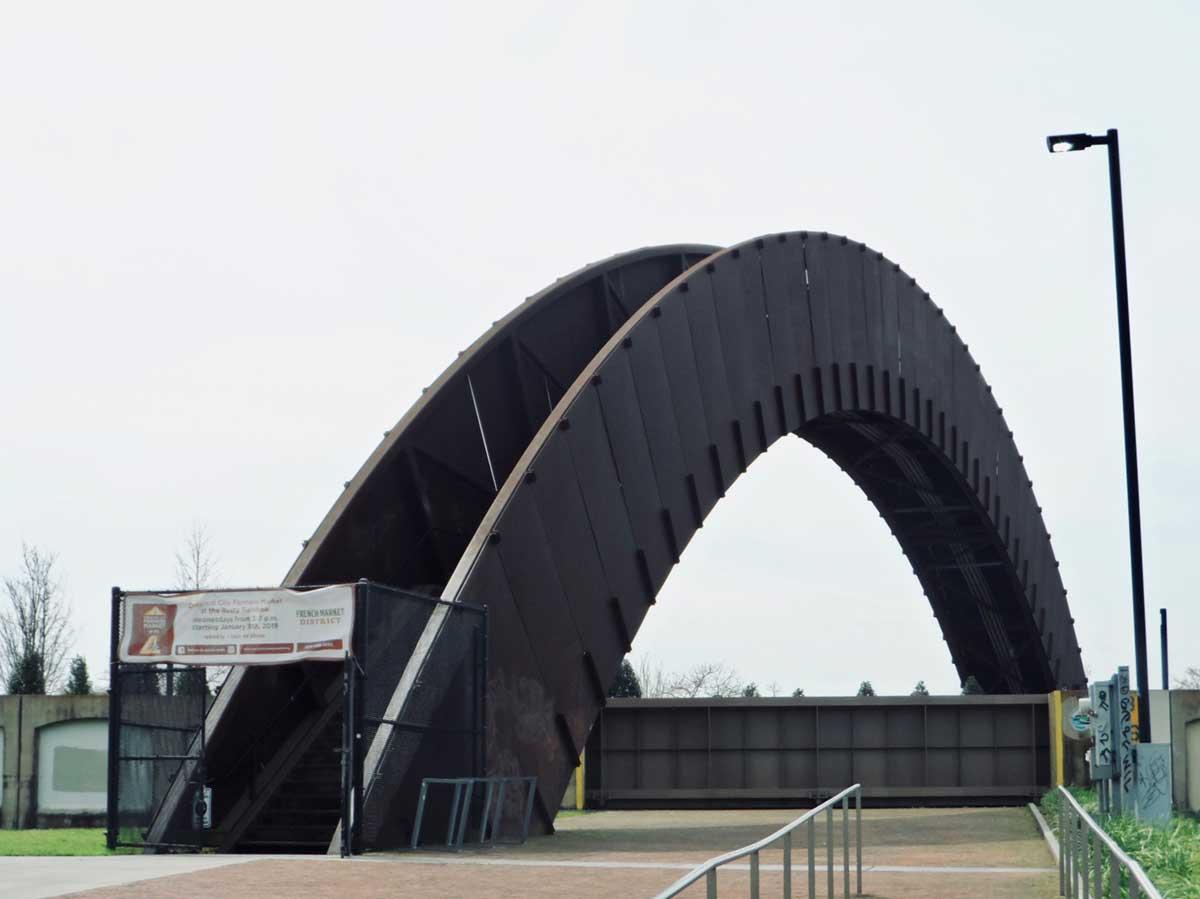 フレンチマーケットそばの陸橋