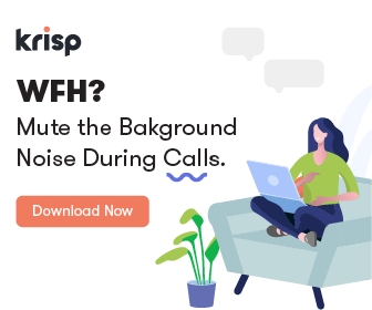 Krisp - Mute the background Noise During Calls. Download Now.