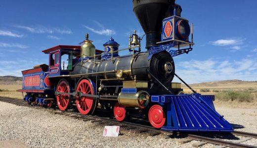 列車好きにオススメ!ゴールデン・スパイク国立史跡観光レビュー【アメリカ旅行】