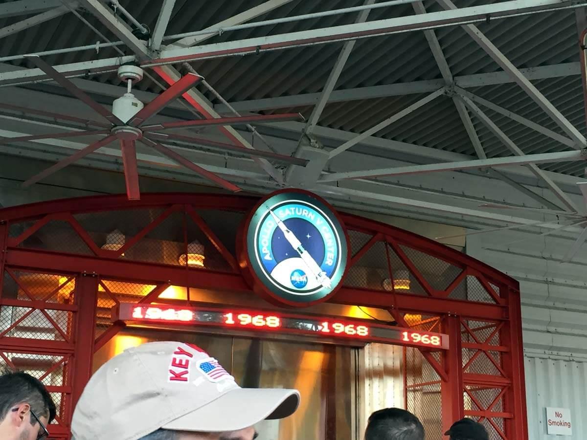 Apollo/Saturn V Center入り口