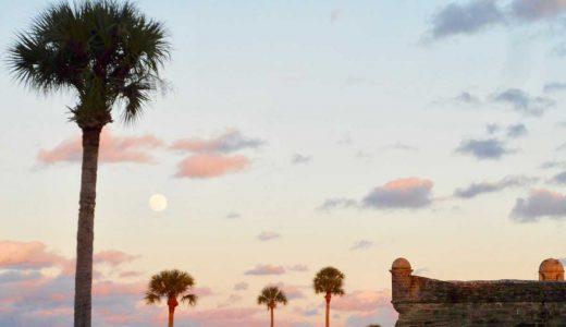 アメリカ・フロリダ旅行記【ケネディ宇宙センター・歴史の町St.Augustine】