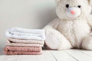 ぬいぐるみとタオル